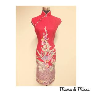 Cheongsam in batik fabric